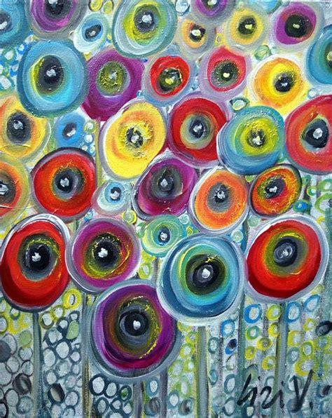 fiori astratti pittura oltre 25 fantastiche idee su fiori dipinti acrilici su