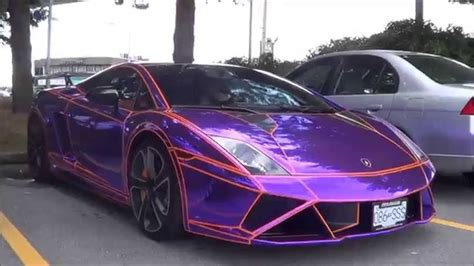 Lamborghini Purple Chrome Purple Chrome Lamborghini Gallardo Lp560 4 Loud