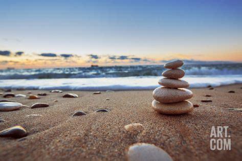 stones balance premium poster  valiosl  artcom