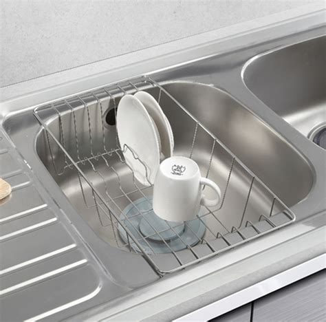 Sink Drainer Basket by Sink Drainer Dish Drying Rack Half Sink Tray Stainless