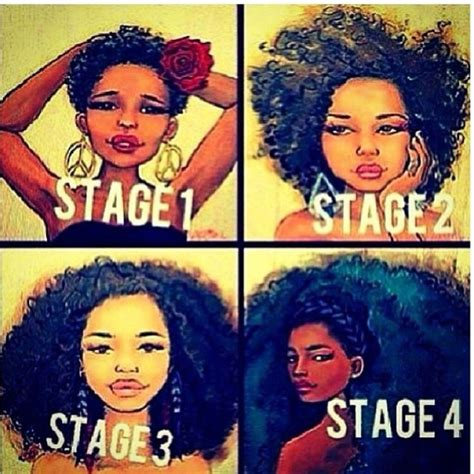 stages of natural hair natural hair inspiration the stages of 4c hair natural