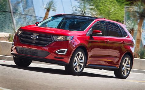 2017 Ford Edge by Ford Edge Sport 2017 Hd Wallpapers