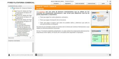 plataforma digital del centro nacional de comercio exterior cencoex curso online de comercio exterior plan prep 225 rate