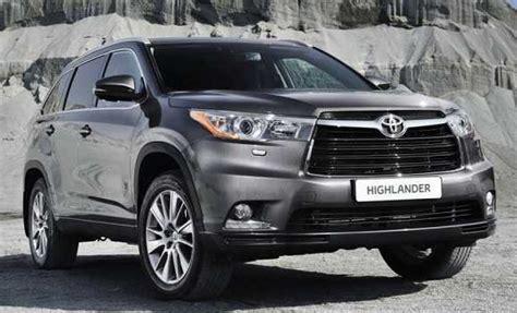 Toyota Usa 2017 Toyota Highlander Release Date Usa Auto Sporty