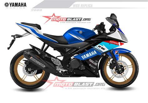 R 15 Modif by Modif Striping Yamaha R15 Crutclow Livery Motoblast