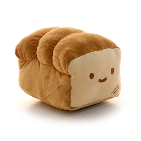 Plush Pillows Home Decorative Room Pillow Cotton Food Loaf Bread