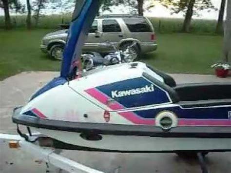 Kawasaki 650 Jet Ski by 1989 Kawasaki 650 Sx Stand Up Jet Ski