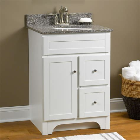 24 Vanity Cabinet With Sink by Worthington 24 Quot Vanity In White Transitional Bathroom
