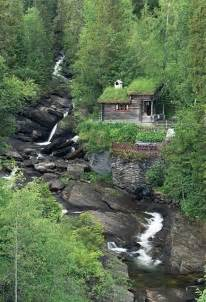 Mountainside House Plans Paradise Found A Cabin In The Woods By A Stream By