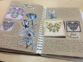 sketchbook page ideas artist research page unit 1 textiles gcse ao1