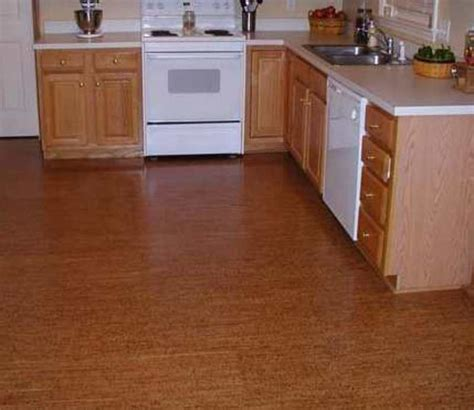floor kitchen cork tiles flooring design bookmark 13944