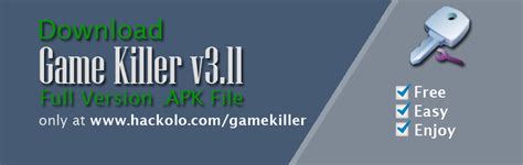 gamekiller apk free get gamekiller apk version no survey hacks and glitches portal