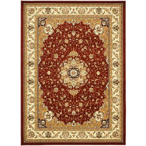 8 X 12 Area Rug Safavieh Lyndhurst Ivory 8 Ft 11 In X 12 Ft Area Rug Lnh329c 9 The Home Depot