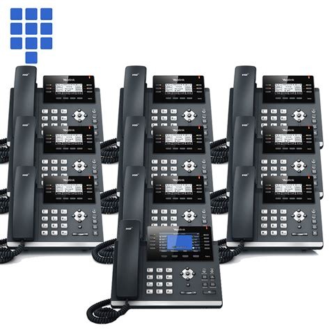 Office Telephone Systems by Phone System Cloud Small Office 10 Yealink Value Bundles