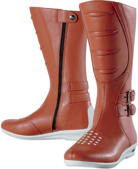 tall motorcycle riding boots icon women s sacred tall motorcycle boot brown