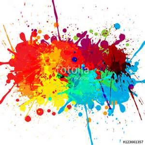 color splatter quot abstract splatter color design background illustration