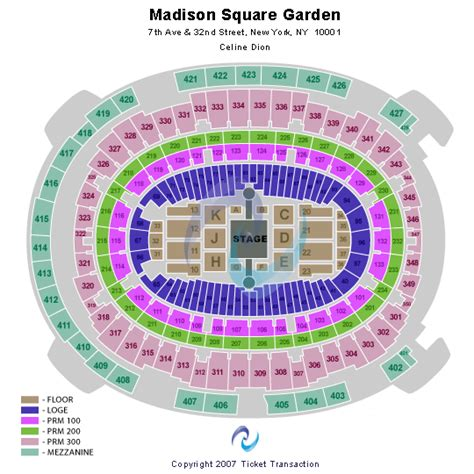 How Many Seats Does Square Garden Hold by How Many Seats Are In Square Garden Square Garden