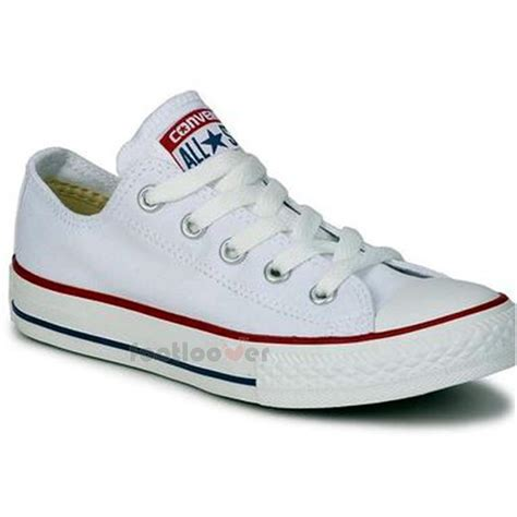 all white sneakers converse all ct ox classic m7652c mens womens white