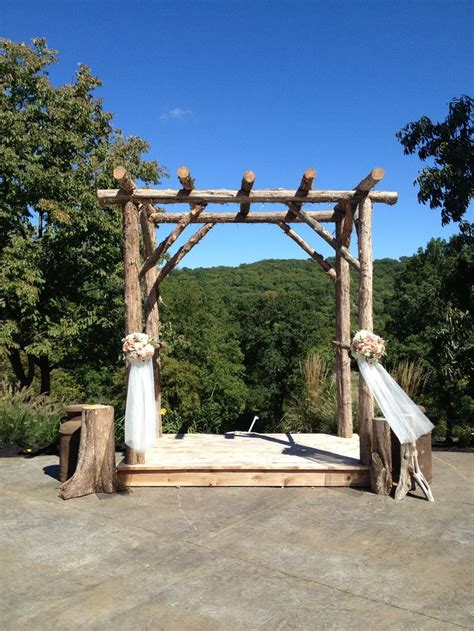 Wedding Arbor Rustic by Rustic Wedding Arbor Haue Valley Rustic Weddings