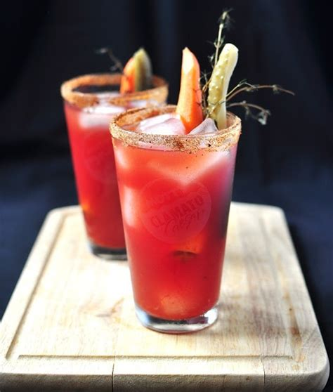 the bloody caesar food drinks cocktails pinterest