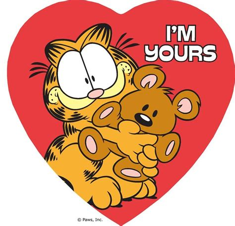 garfield valentines day 1000 images about garfield my fav cat on