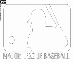 Mlb Logos Coloring Pages Printable Games 2 Mlb Logo Coloring Pages