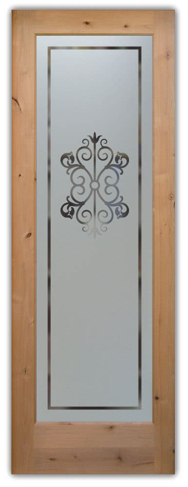 decorative glass pantry door sans soucie glass