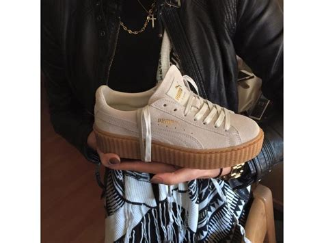 Fenty Rihanna Grey Size 40 Uk Wanita creepers by rihanna suede white eur 40 us wmns 9 uk 6