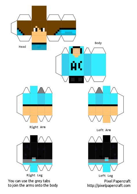 Hola soy steve y AnthonyCraft en Papercraft | Taringa! J 17