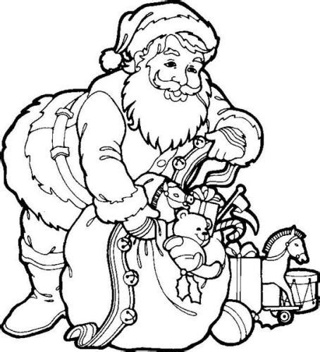my family fun christmas santa claus coloring pages