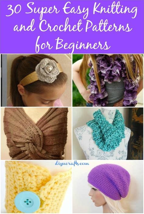 www coatsandclark crafts crochet projects 30 easy knitting and crochet patterns for beginners