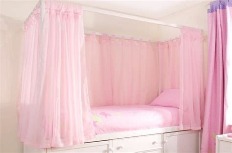 canopy bed curtains for kids kids wooden four poster bed lovely kids four poster bed in