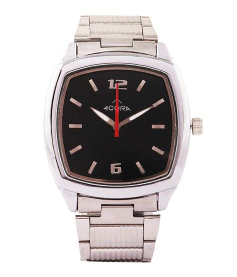acura black analog wrist price in india buy acura