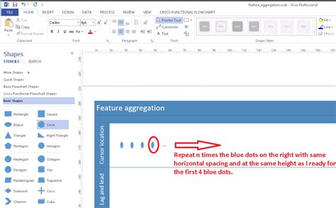change shape in visio forme puzzle visio