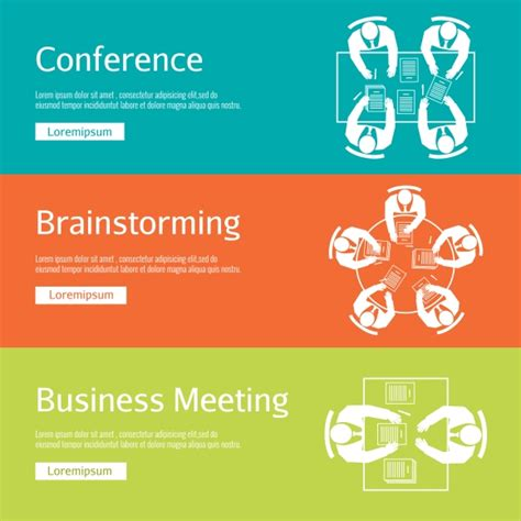 Invitation Letter For Brainstorming Meeting Conference Meeting Brainstorming Graphics On Creative