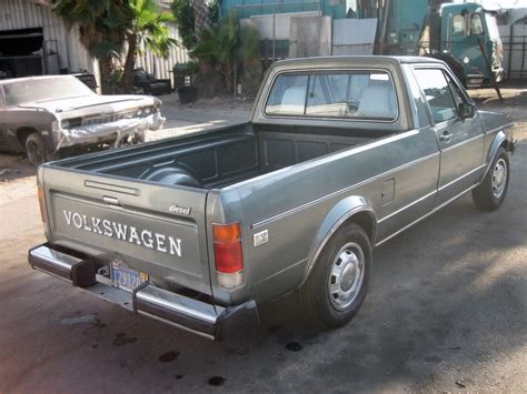 volkswagen rabbit truck diesel power 1981 volkswagen rabbit pickup lx