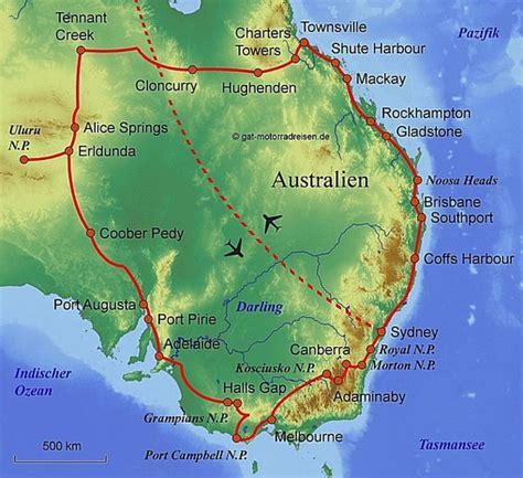 Motorradfahren Australien by Motorradreise Australien Gef 252 Hrte Motorradtouren