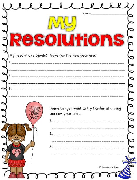 new years resolutions activities may your new year sparkle and shine craftivity in