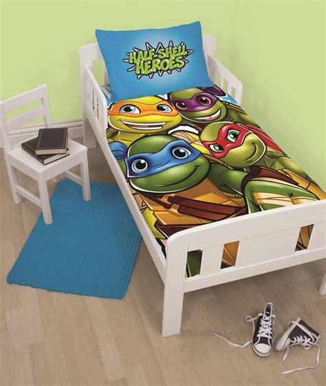 Teenage Mutant Ninja Turtles Half Shell Heroes Junior Mutant Turtles Toddler Bedding Sets