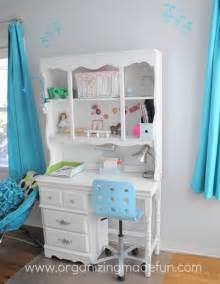 Turquoise Bedroom Desk Turquoise Room Reveal Organizing Made
