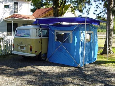 van side awning van with a tent volkswagon s pinterest