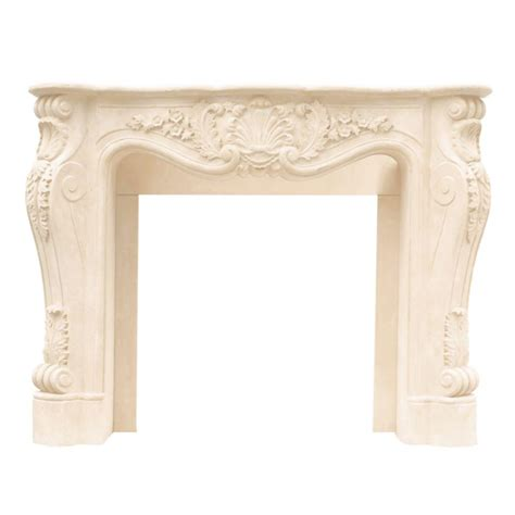 fireplace mantel kits home depot historic mantels designer series louis xiii 47 in x 53 in