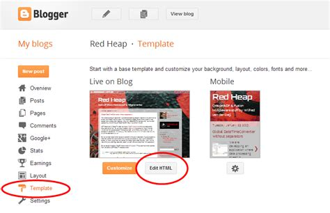 red heap syntaxhighlighter at blogger