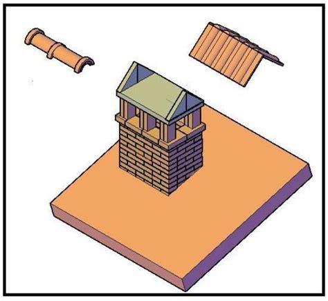 costruire un camino in mattoni come costruire un bel camino sul tetto
