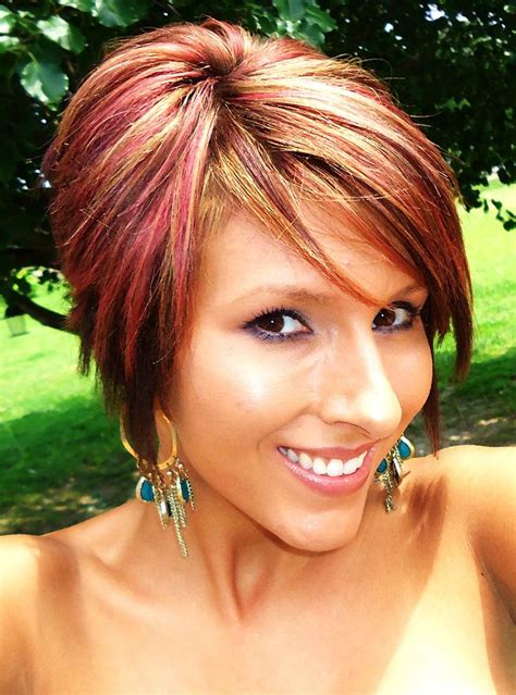 how much for a cut and highlight houzz 126 best images about short hair auburn with highlights