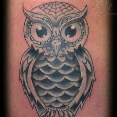 sugar owl tattoo design owl sugar skull tattoo design real photo pictures