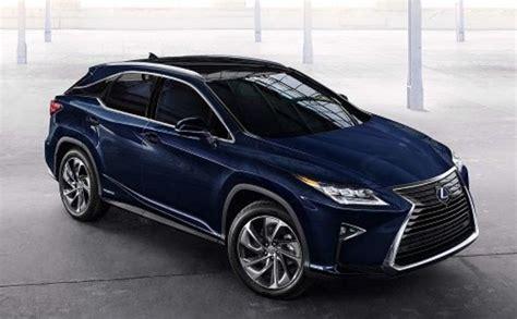 2020 Lexus Rx Hybrid by 2020 Lexus Rx 350 Hybrid Release Date Changes Interior