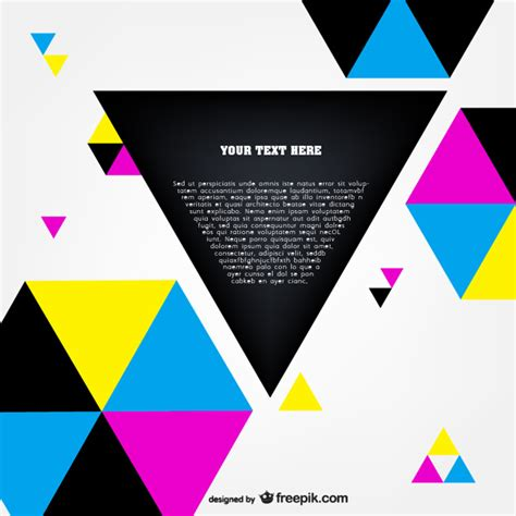 free eps format editor cmyk polygonal template vector vector free download