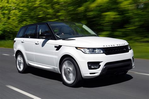 navy range rover sport range rover sport suv review parkers