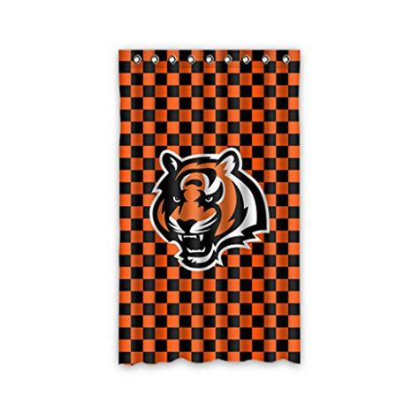 cincinnati bengals curtains bengals curtains cincinnati bengals curtain bengals